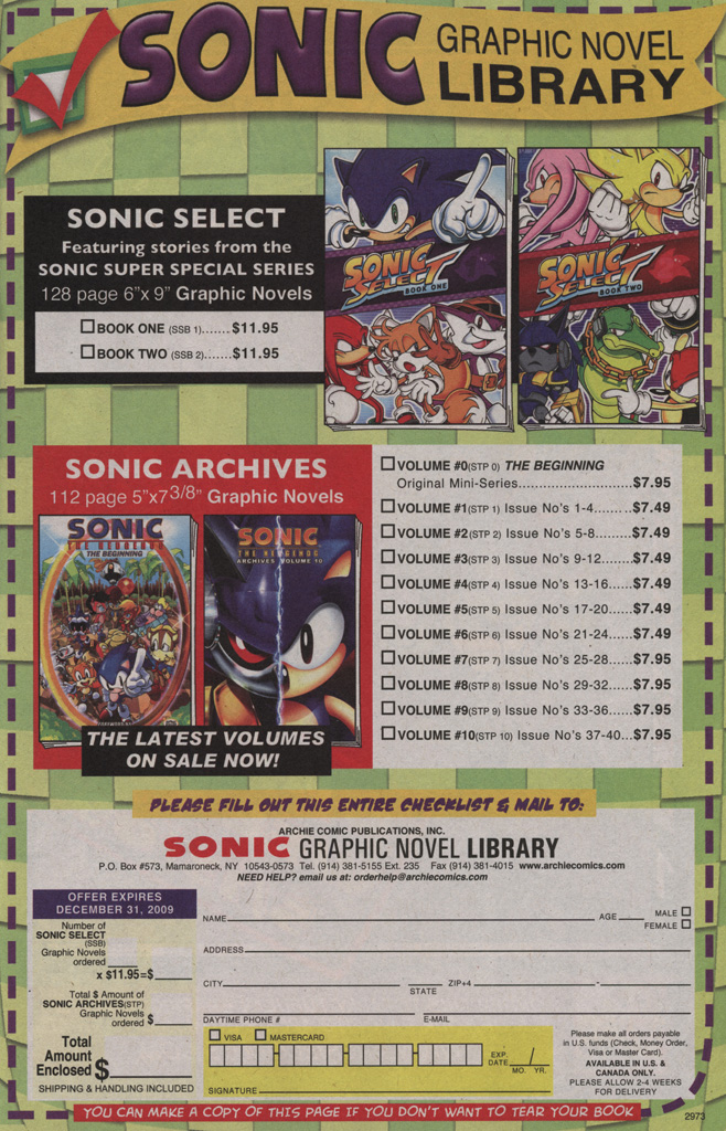 Sonic - Archie Adventure Series June 2009 Page 6