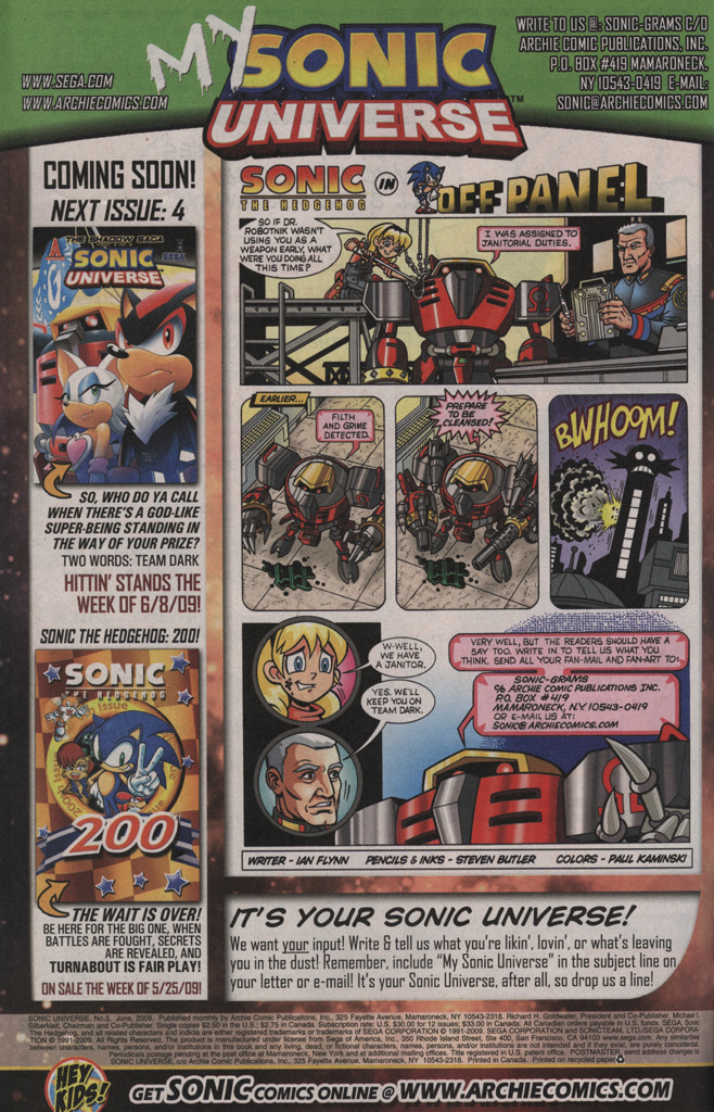 Sonic Universe Issue No. 03 Page 33