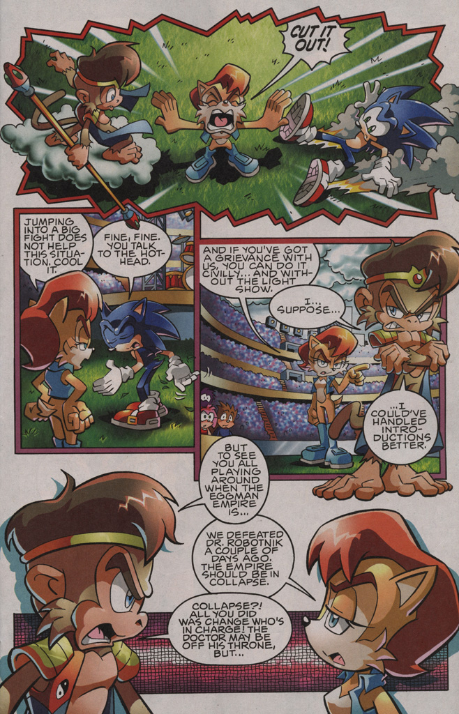 Sonic - Archie Adventure Series August 2009 Page 10
