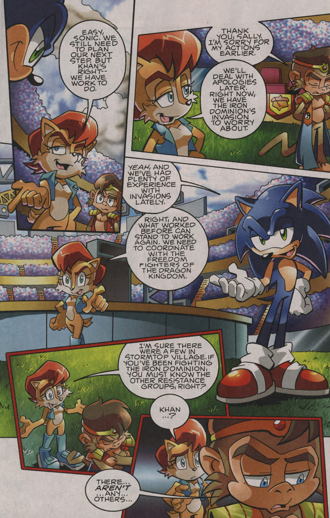 Sonic - Archie Adventure Series August 2009 Page 19