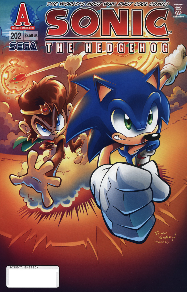 Sonic - Archie Adventure Series September 2009 Cover Page