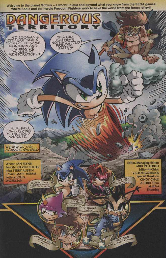 Sonic - Archie Adventure Series September 2009 Page 2