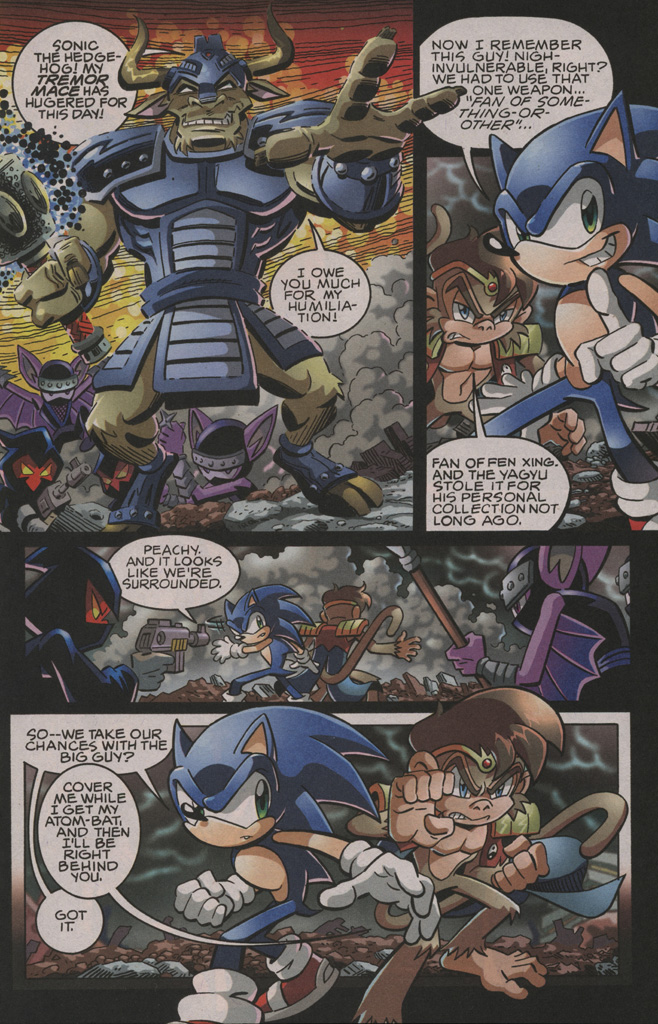 Sonic - Archie Adventure Series September 2009 Page 10