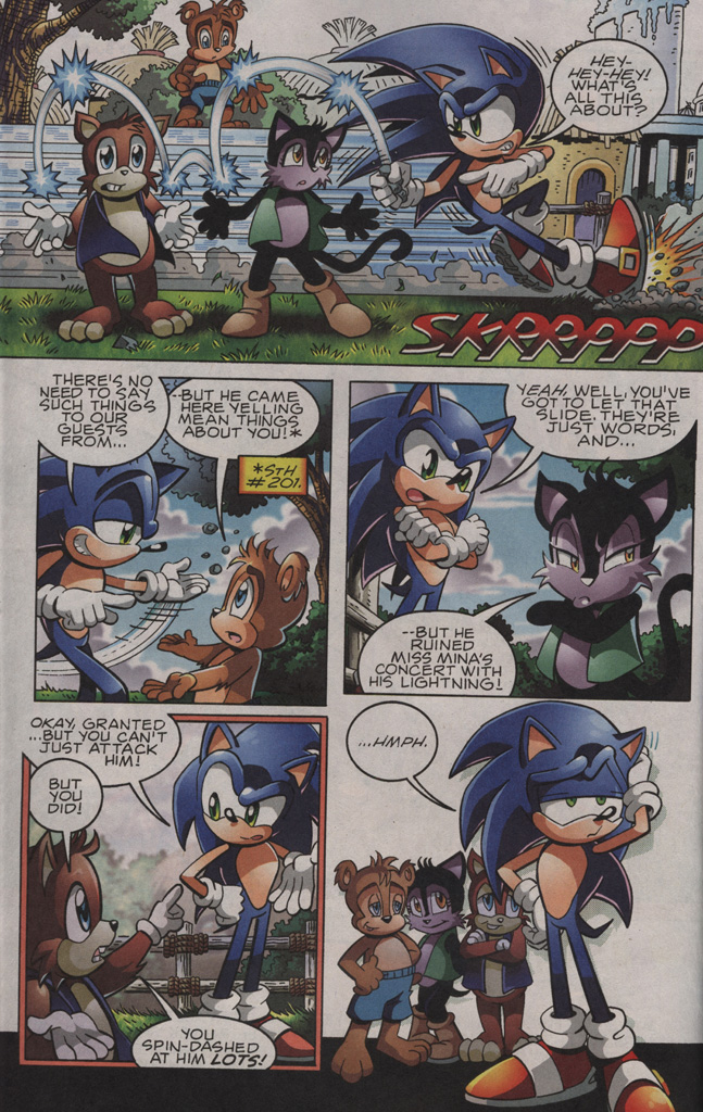 Sonic - Archie Adventure Series October 2009 Page 3