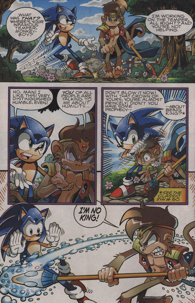 Sonic - Archie Adventure Series October 2009 Page 5