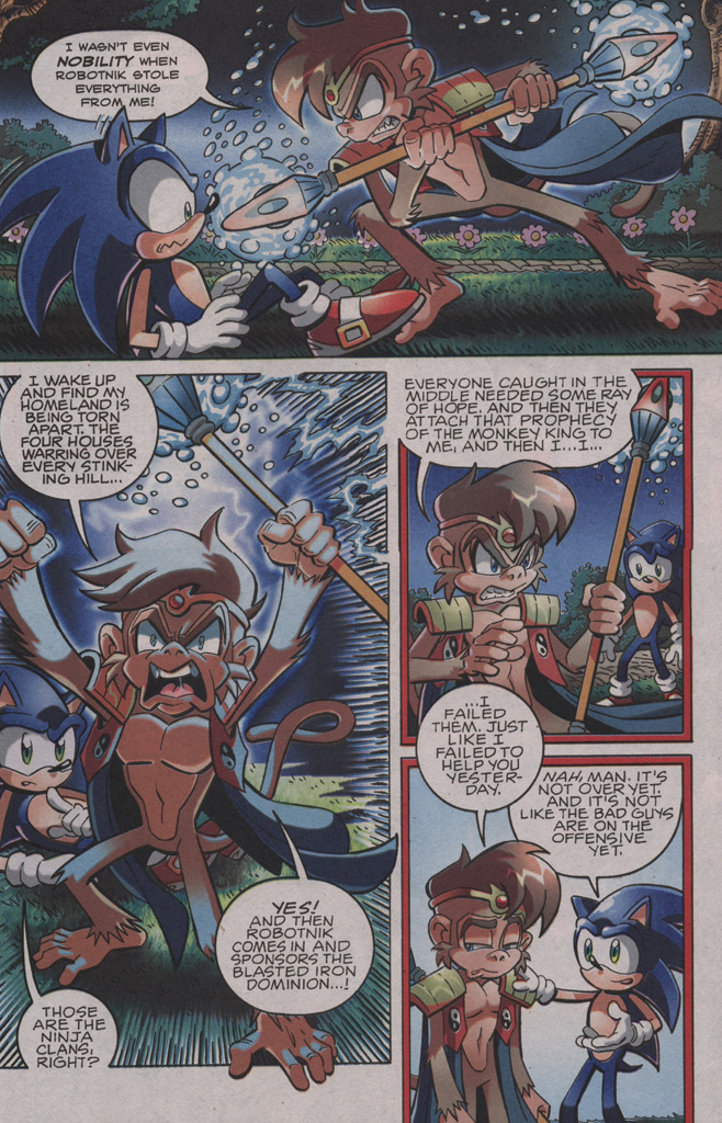 Sonic - Archie Adventure Series October 2009 Page 6