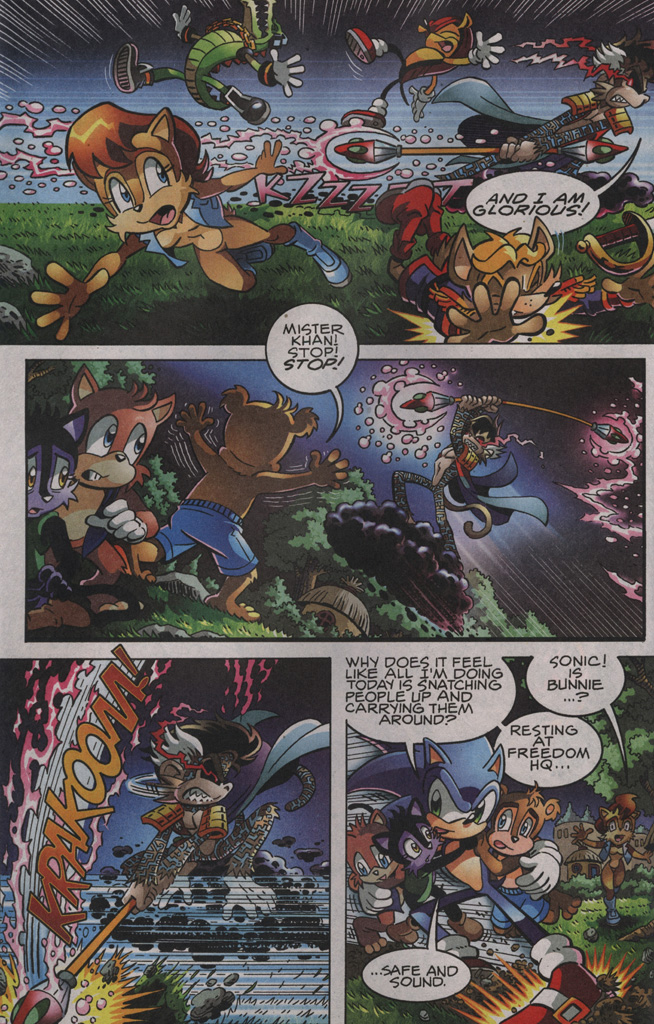 Sonic - Archie Adventure Series November 2009 Page 3