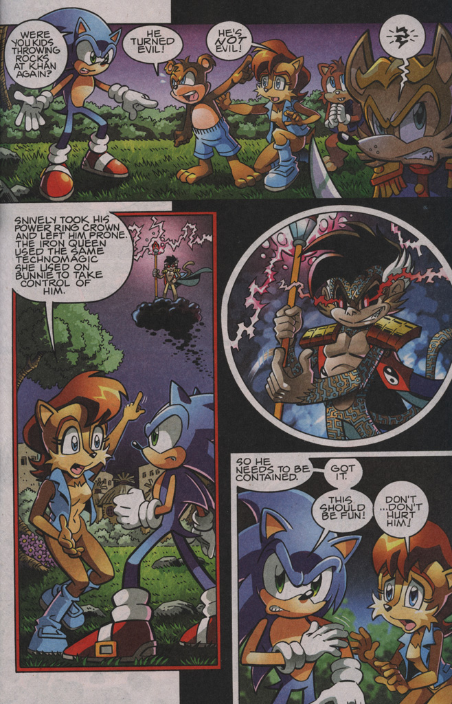 Sonic - Archie Adventure Series November 2009 Page 4