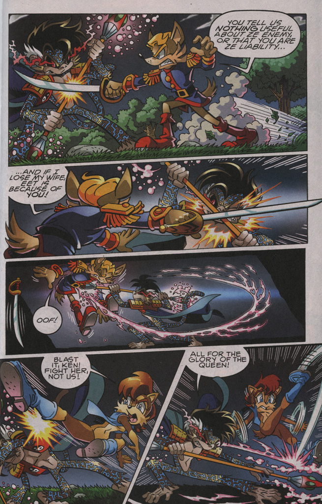 Sonic - Archie Adventure Series November 2009 Page 10