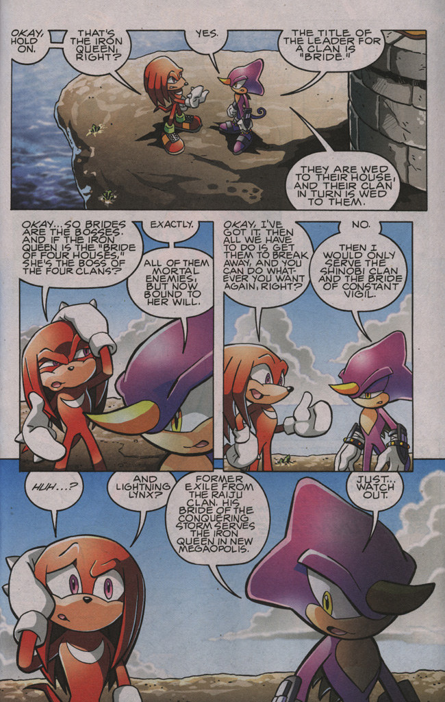 Sonic - Archie Adventure Series November 2009 Page 30