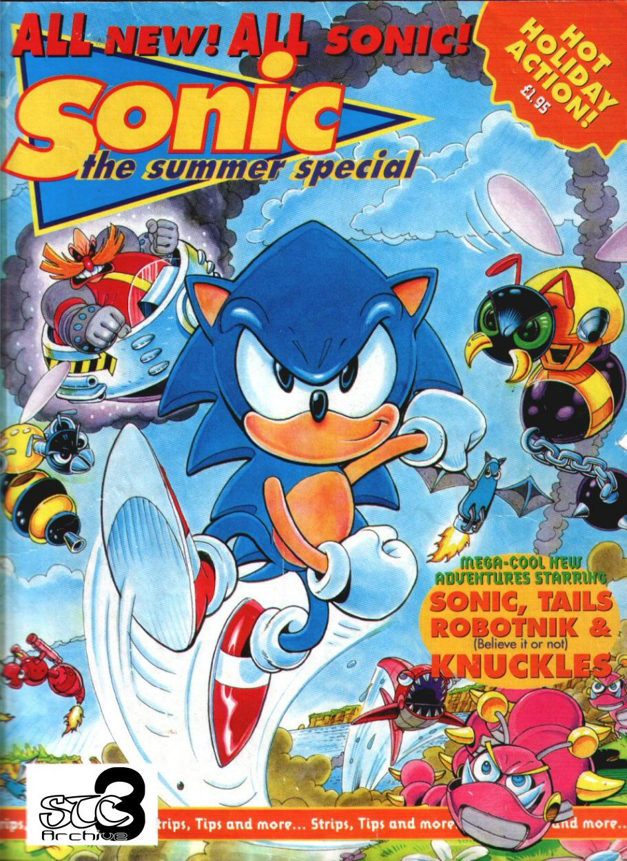 Sonic Holiday Special - Summer 1994 Comic cover page