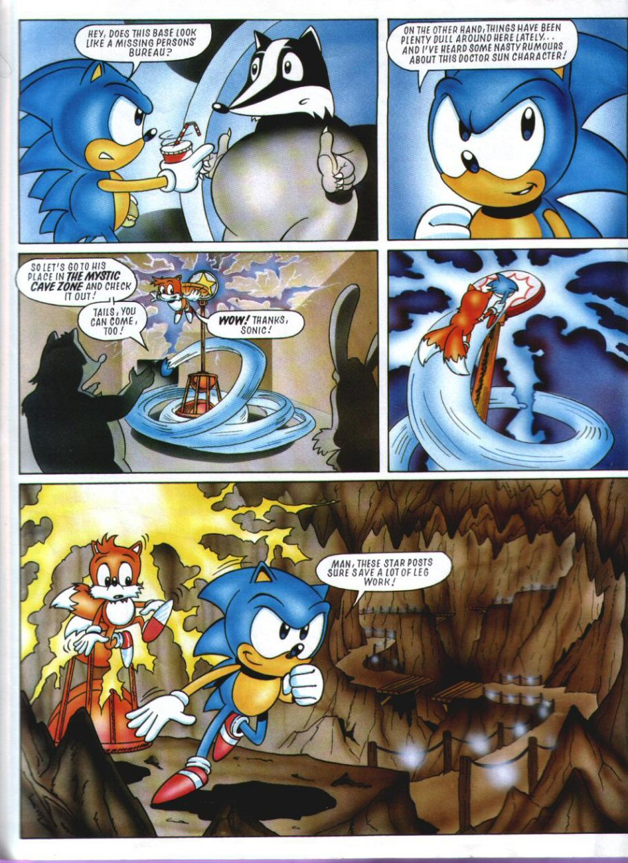 Sonic Holiday Special - Summer 1994 Page 3