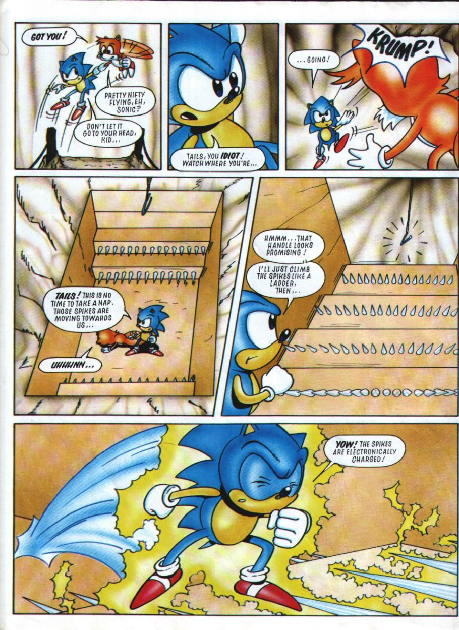 Sonic Holiday Special - Summer 1994 Page 5