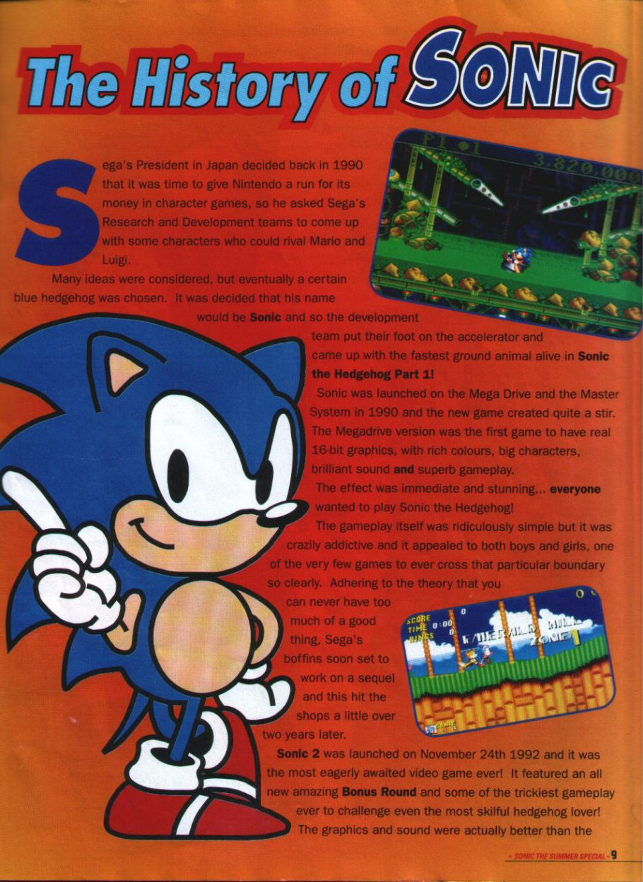 Sonic Holiday Special - Summer 1994 Page 8