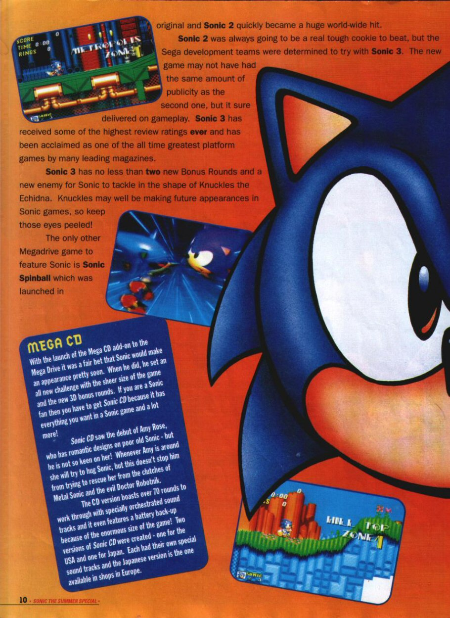 Sonic Holiday Special - Summer 1994 Page 9