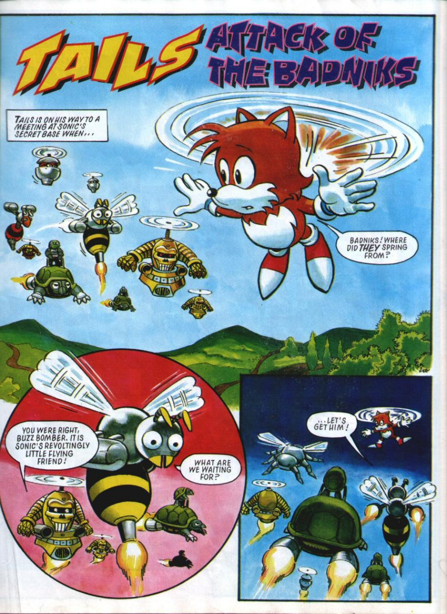 Sonic Holiday Special - Summer 1994 Page 20