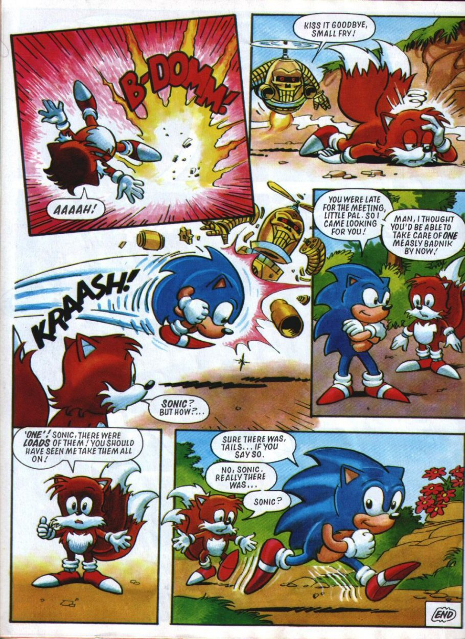 Sonic Holiday Special - Summer 1994 Page 23