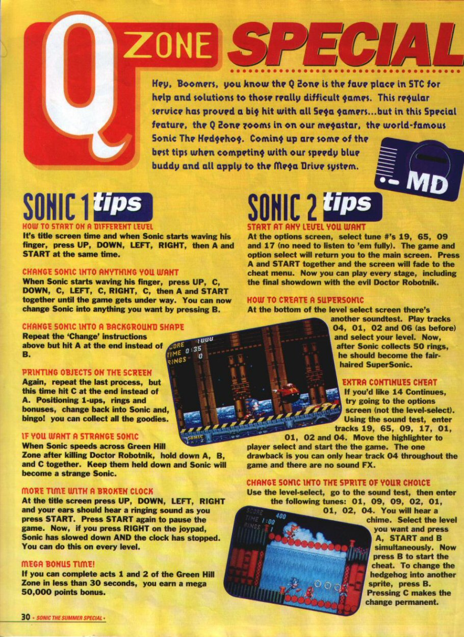 Sonic Holiday Special - Summer 1994 Page 27