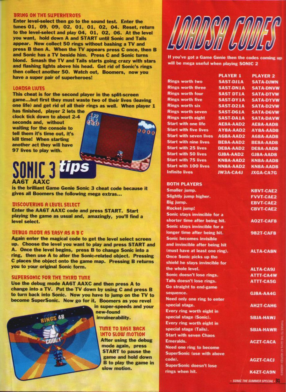 Sonic Holiday Special - Summer 1994 Page 28