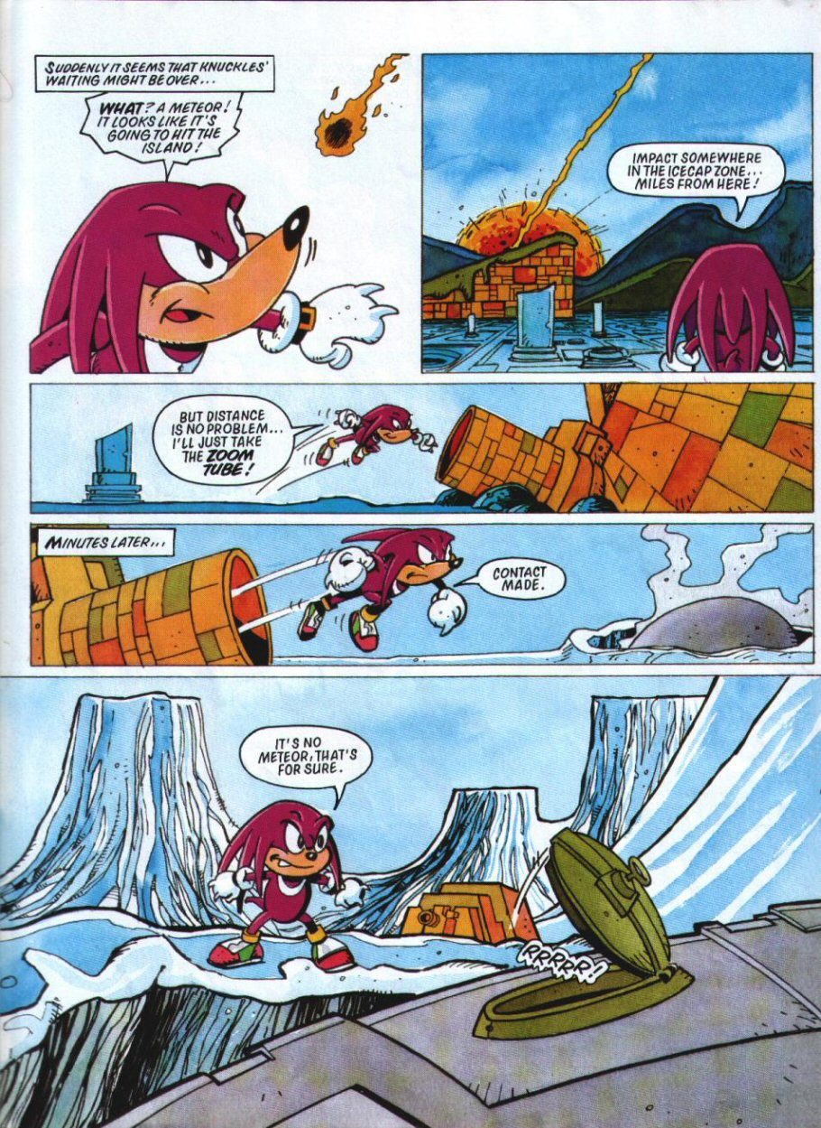 Sonic Holiday Special - Summer 1994 Page 31