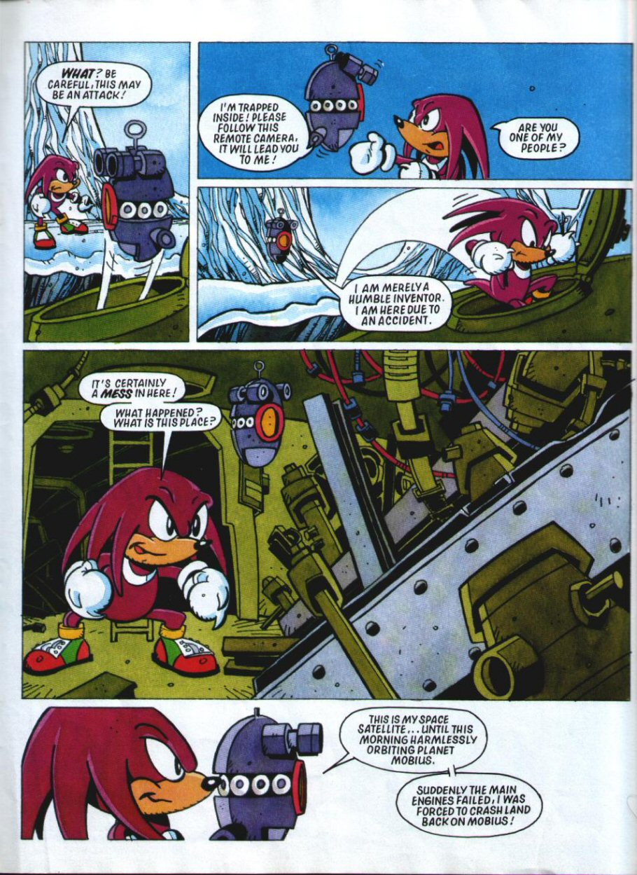 Sonic Holiday Special - Summer 1994 Page 32