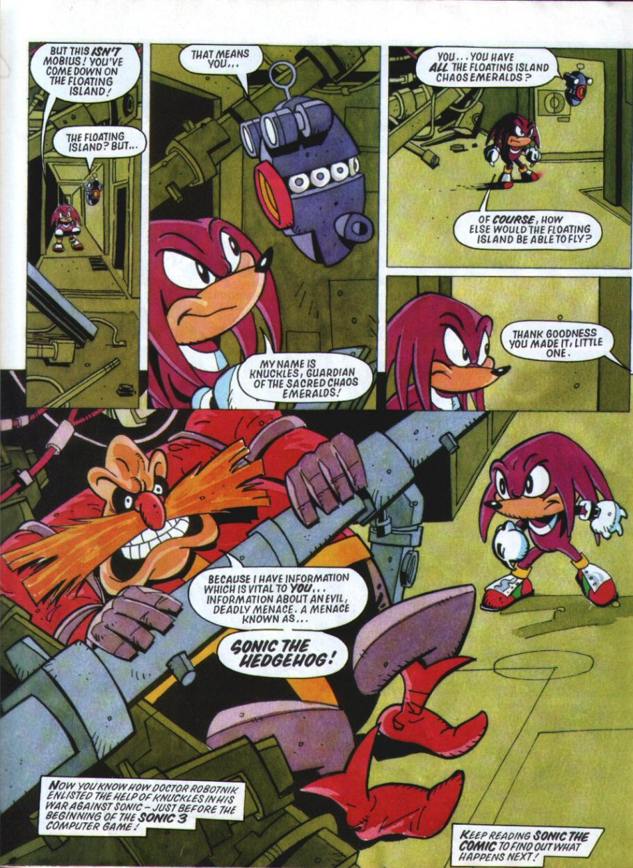 Sonic Holiday Special - Summer 1994 Page 33