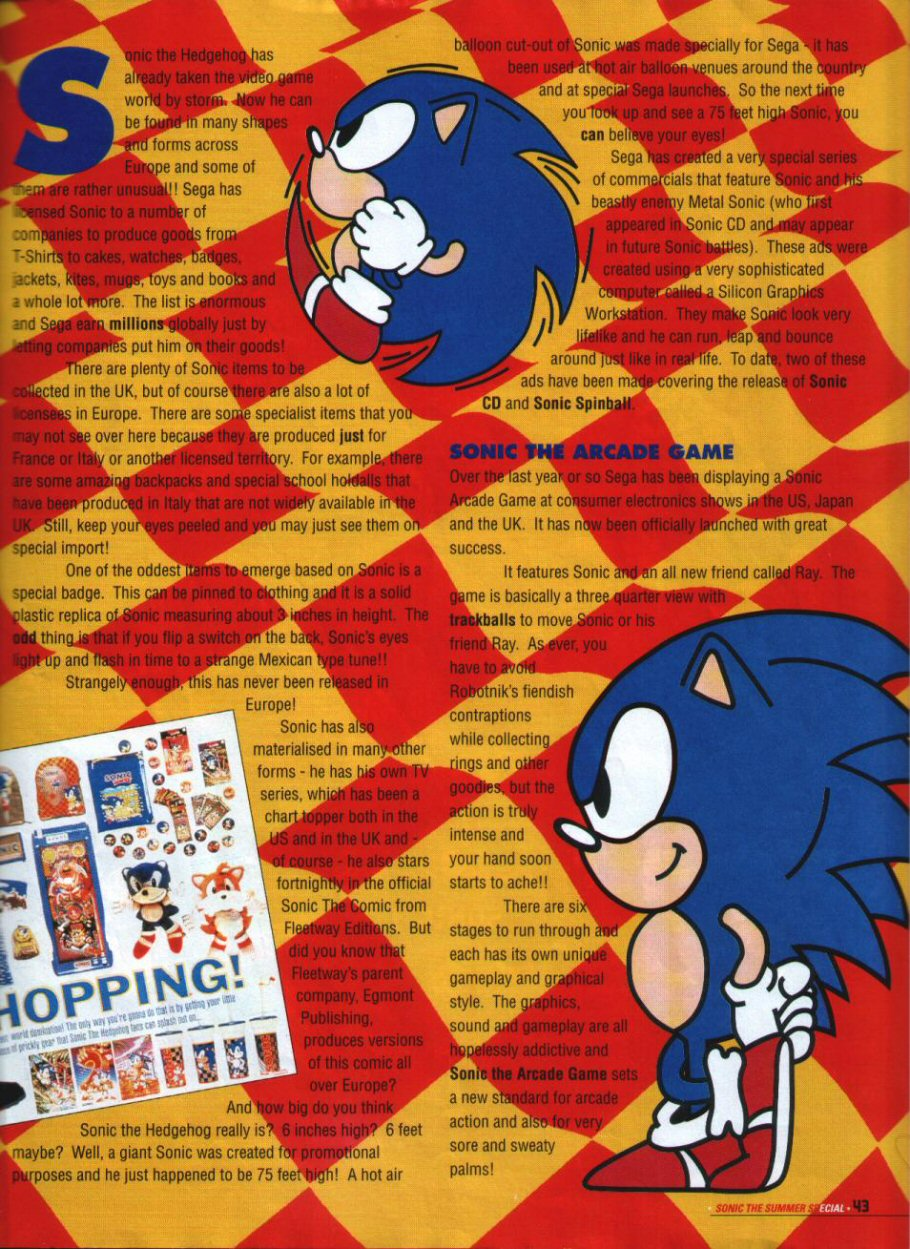Sonic Holiday Special - Summer 1994 Page 38