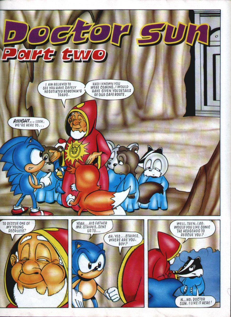 Sonic Holiday Special - Summer 1994 Page 40