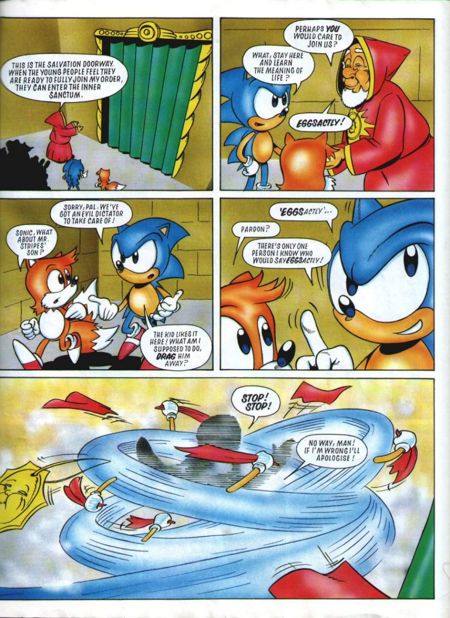 Sonic Holiday Special - Summer 1994 Page 42