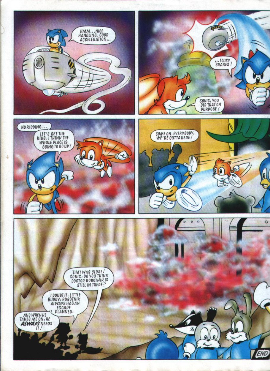 Sonic Holiday Special - Summer 1994 Page 45