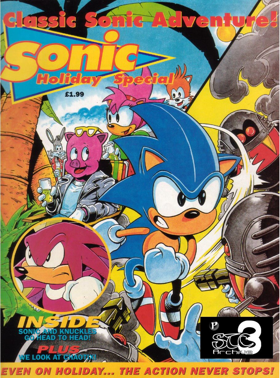 Sonic Holiday Special - Summer 1995 Cover Page