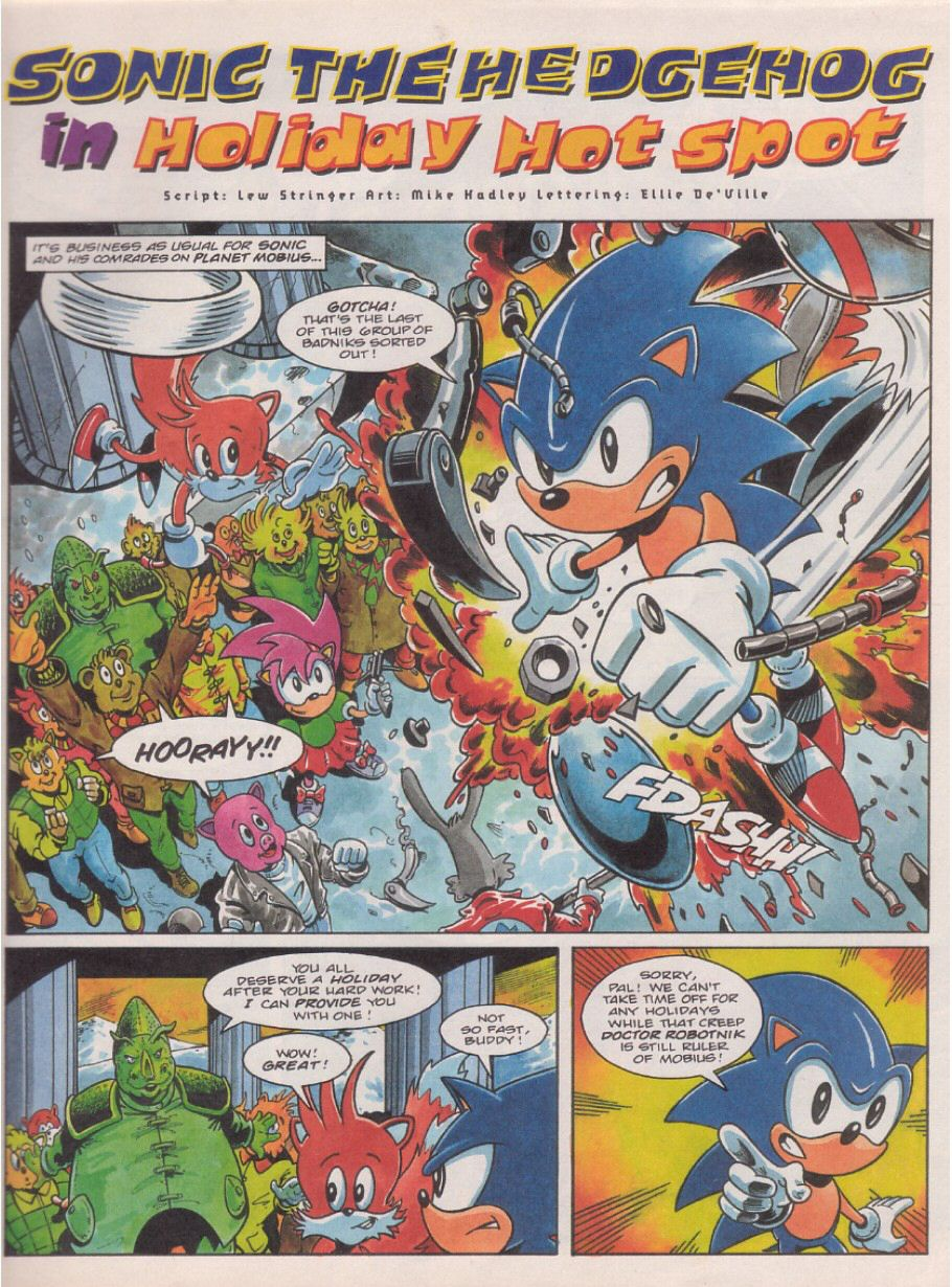 Sonic Holiday Special - Summer 1995 Page 2