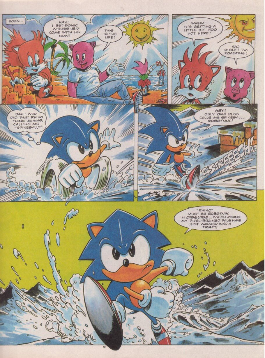 Sonic Holiday Special - Summer 1995 Page 4