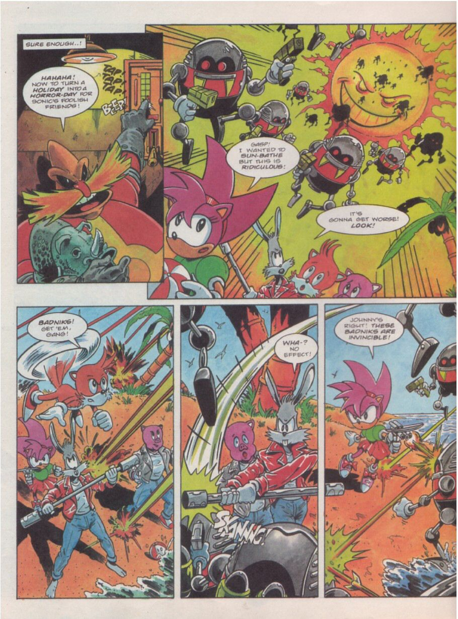 Sonic Holiday Special - Summer 1995 Page 5