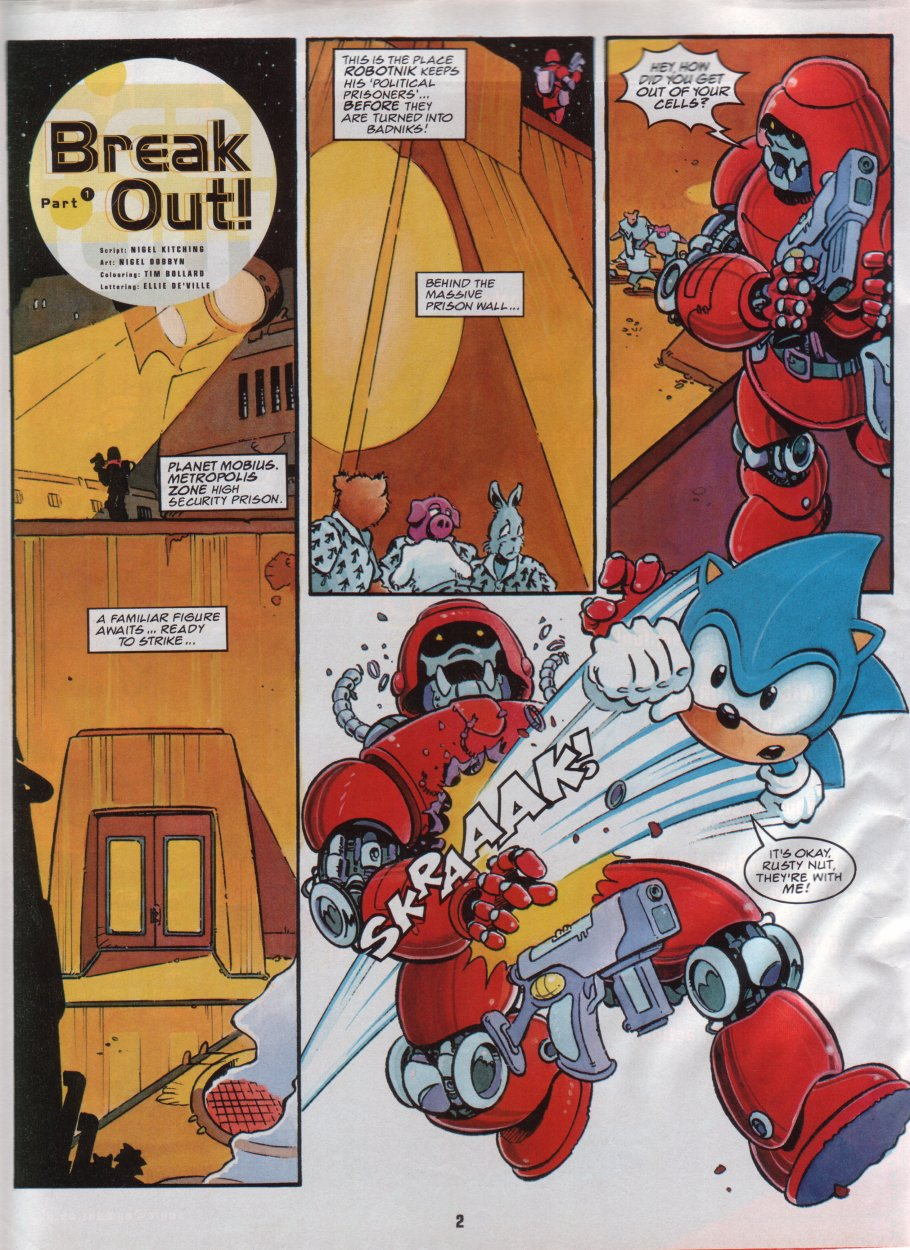 Sonic Holiday Special - Summer 1996 Page 3