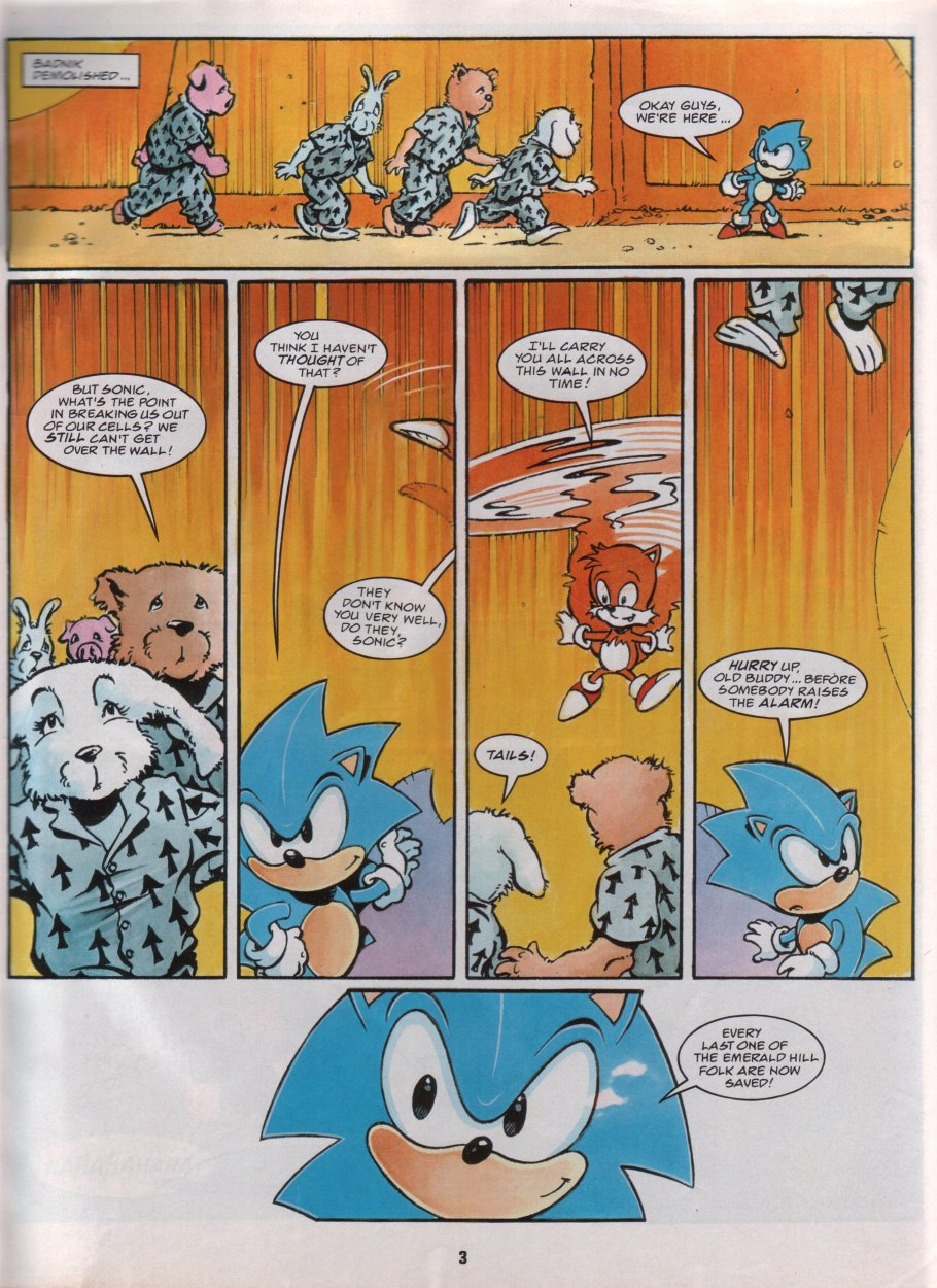 Sonic Holiday Special - Summer 1996 Page 4