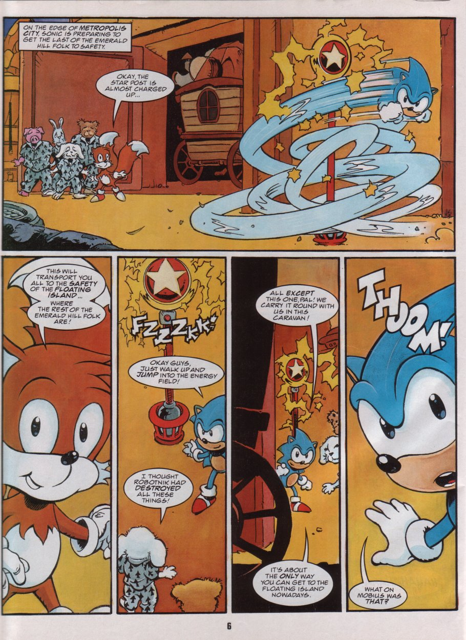 Sonic Holiday Special - Summer 1996 Page 7