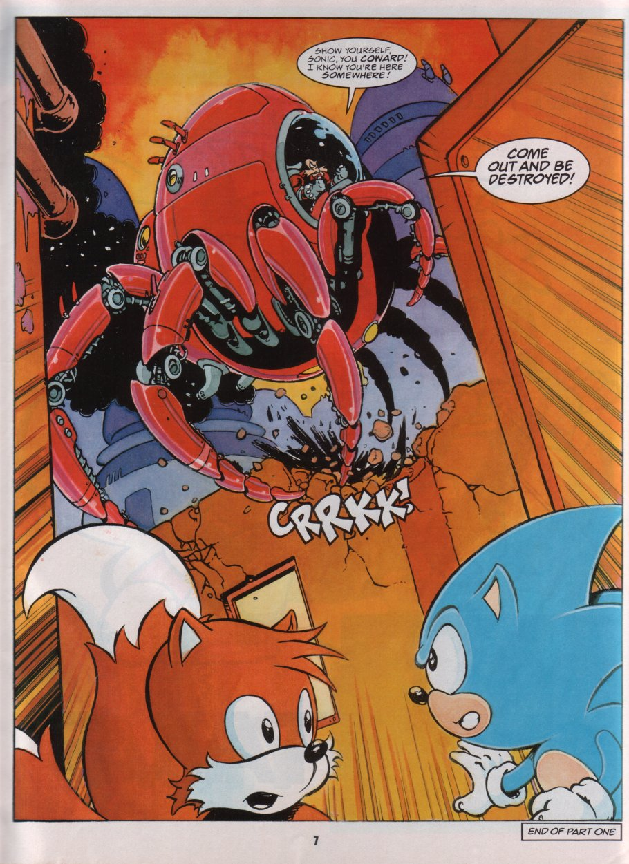 Sonic Holiday Special - Summer 1996 Page 8