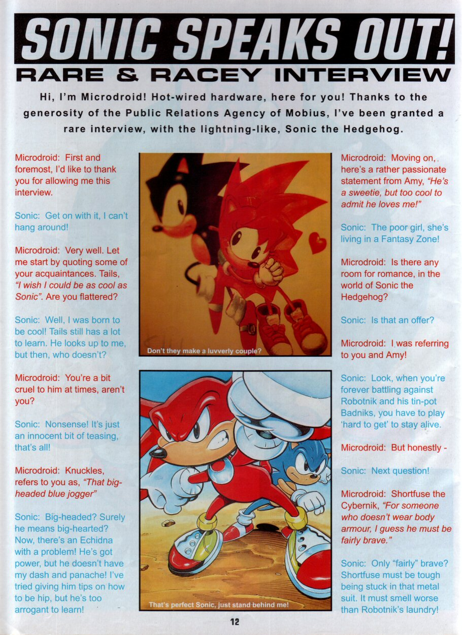 Sonic Holiday Special - Summer 1996 Page 13