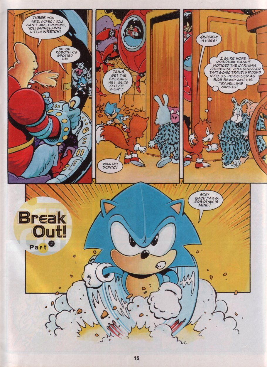 Sonic Holiday Special - Summer 1996 Page 16