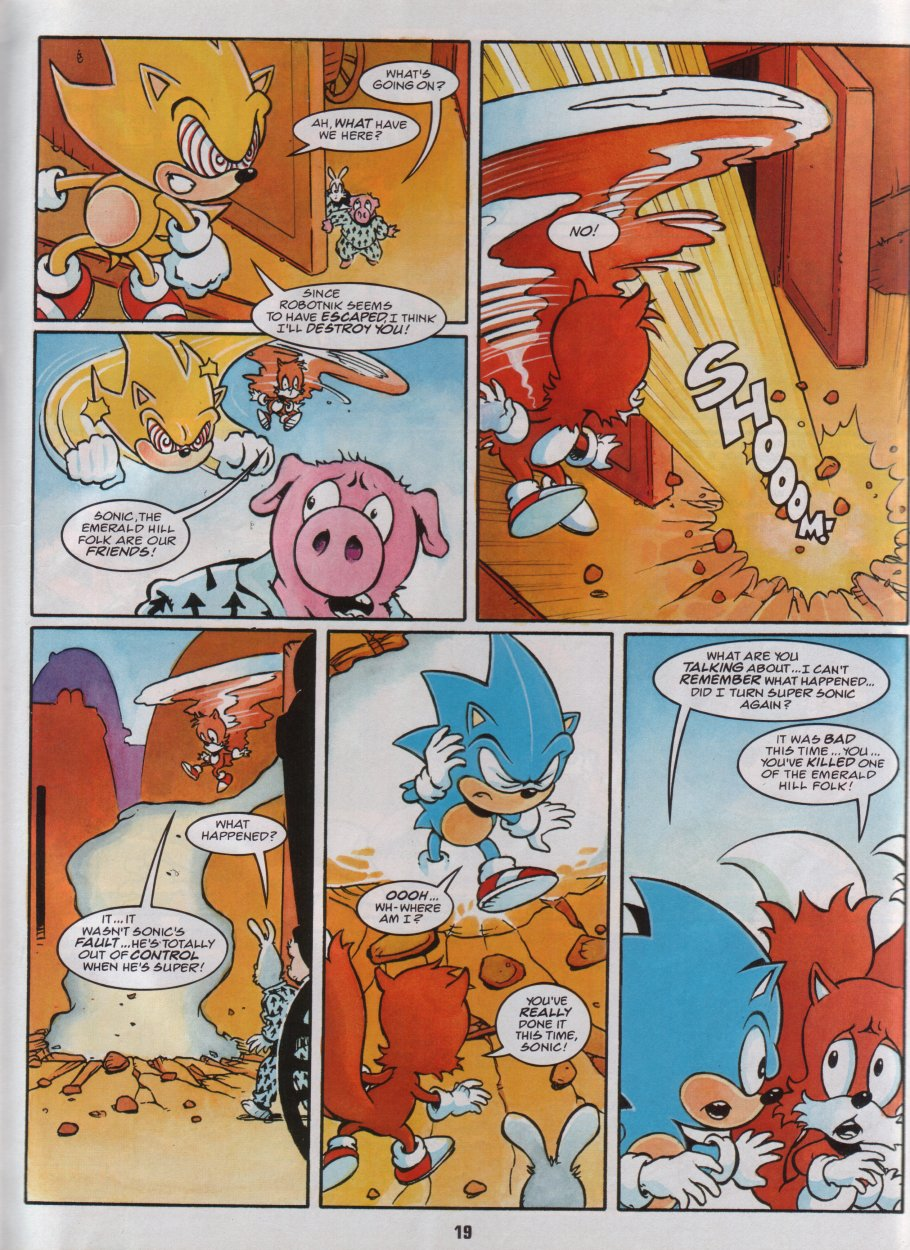 Sonic Holiday Special - Summer 1996 Page 20