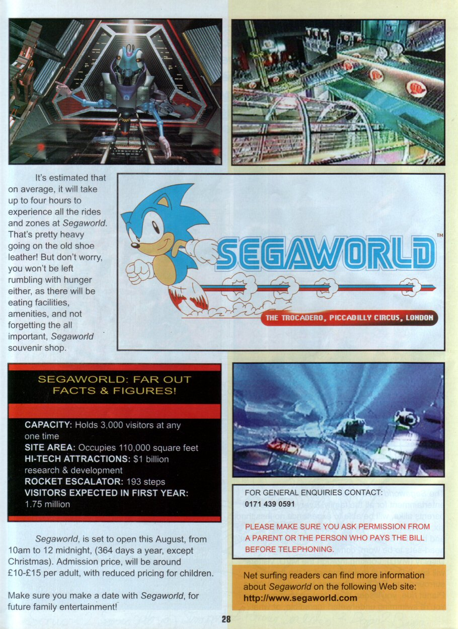 Sonic Holiday Special - Summer 1996 Page 24