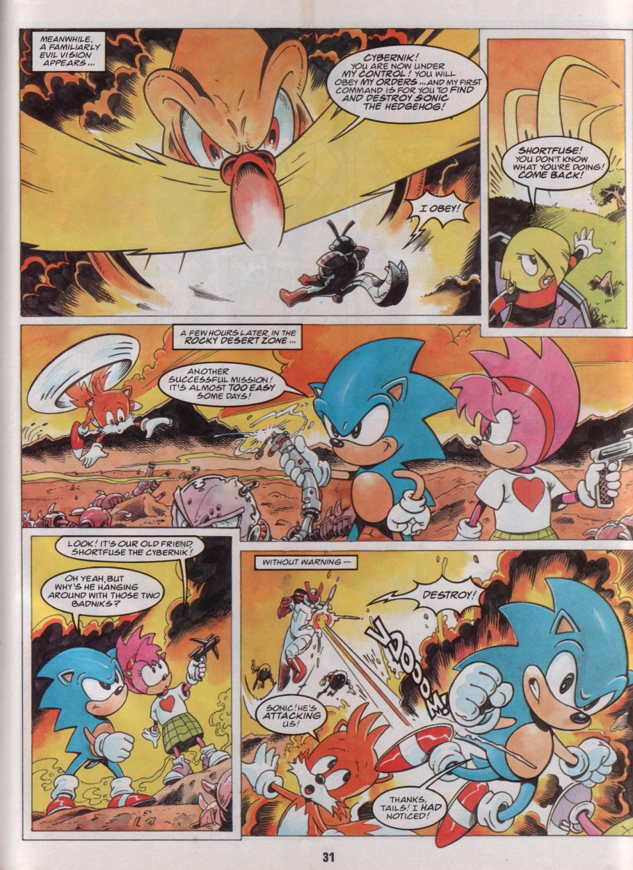 Sonic Holiday Special - Summer 1996 Page 27