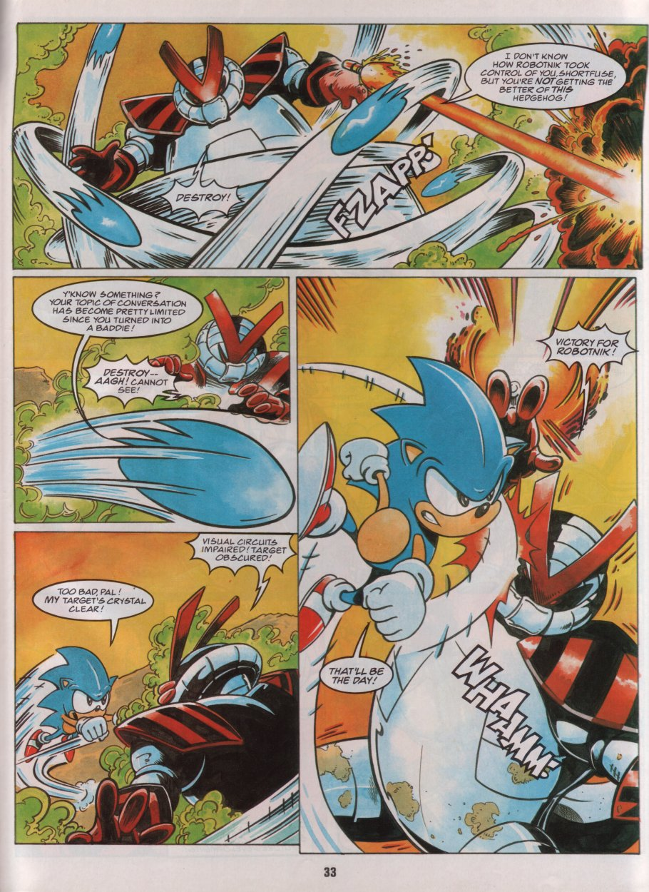 Sonic Holiday Special - Summer 1996 Page 29