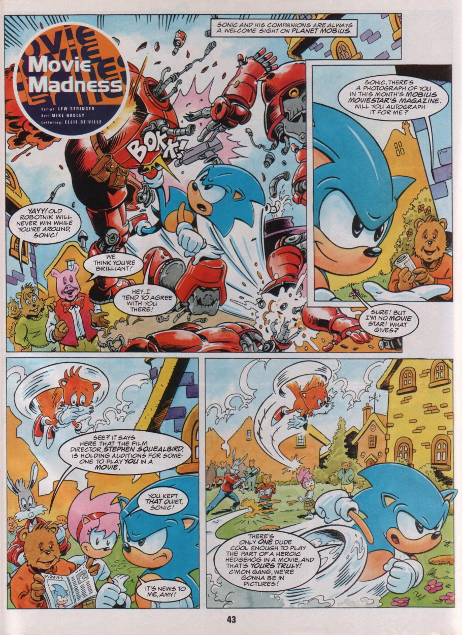 Sonic Holiday Special - Summer 1996 Page 37