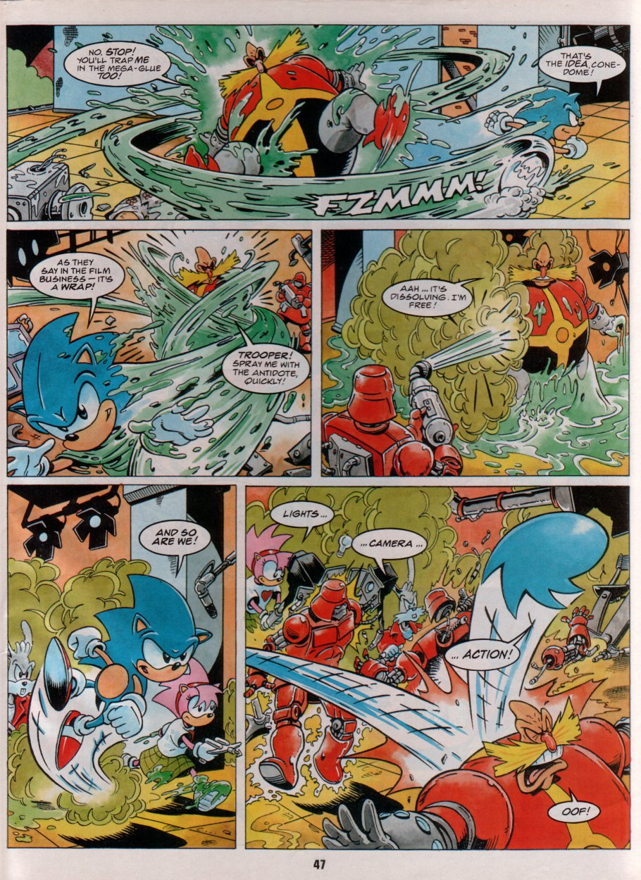 Sonic Holiday Special - Summer 1996 Page 41