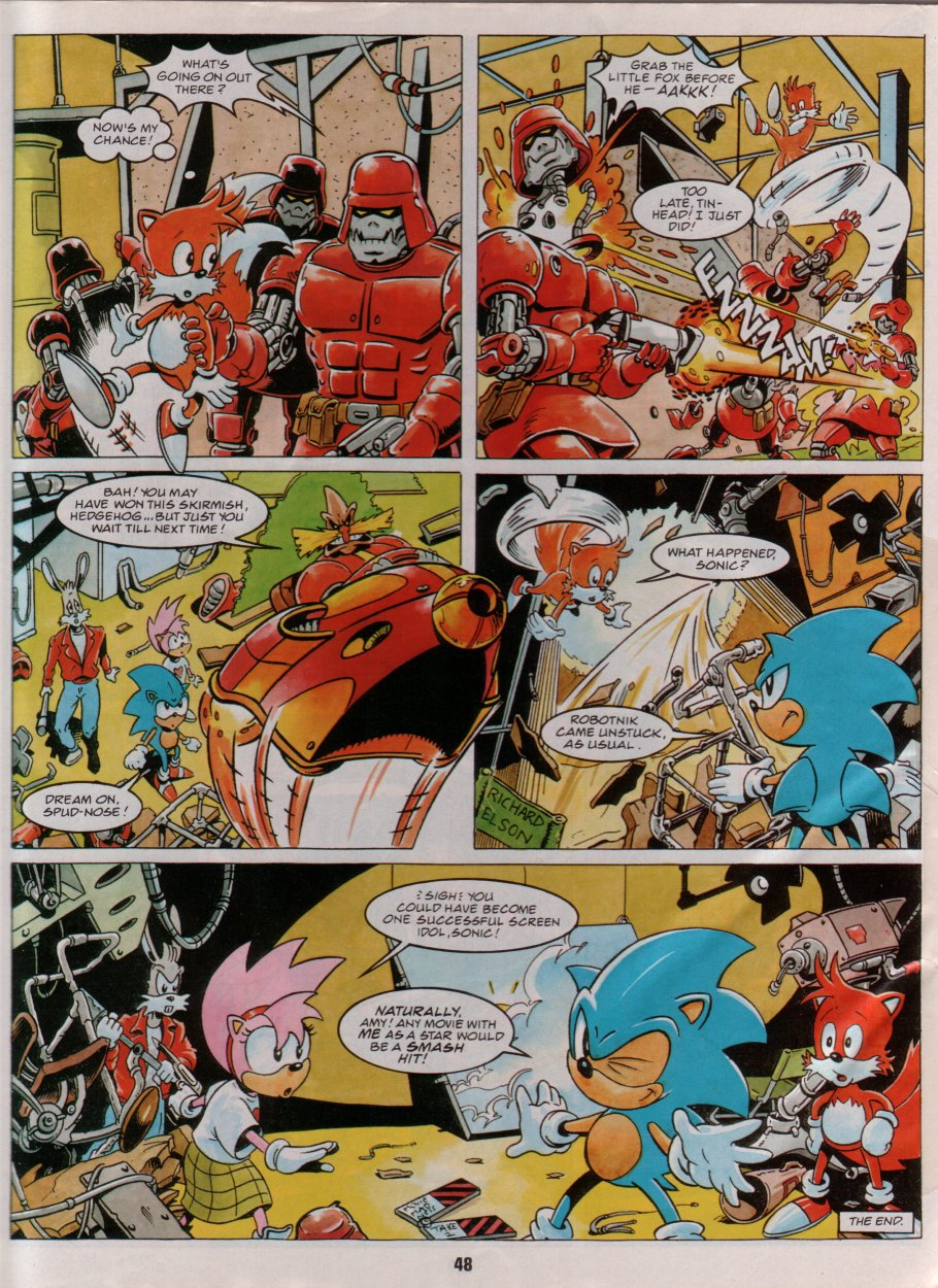 Sonic Holiday Special - Summer 1996 Page 42