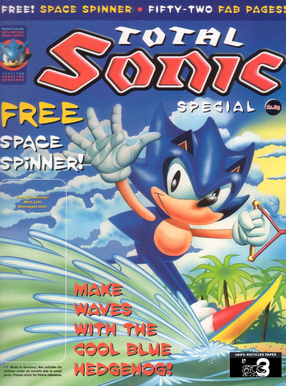 Sonic Holiday Special - Summer 1999 Cover Page