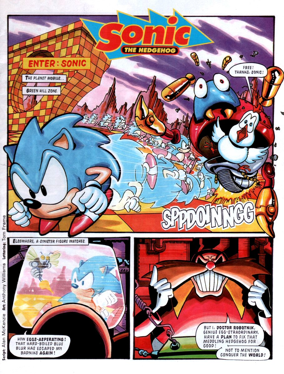 Sonic - The Comic Issue No. 001 Page 2