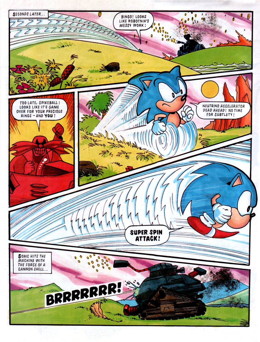 Sonic - The Comic Issue No. 001 Page 7